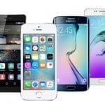 srovnani-iphone 5S-Galaxy S6-Galaxy-A5-Huawei-P8