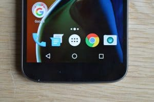 Senzorická tlačítka Lenova Moto G4