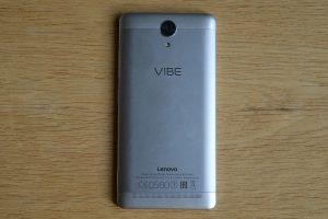 Lenovo Vibe K5 Note zdaní strana