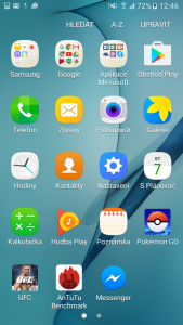 TouchWiz (Samsung Galaxy J5)