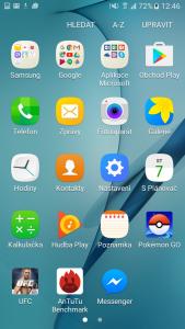 TouchWiz (Samsung Galaxy J5)