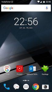 Vodafone Smart ultra 7 - Domovská stránka
