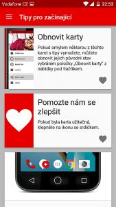 Vodafone Smart prime 7 - Tipy na ovládání