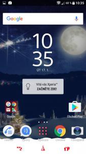 Sony Xperia X Compact - uživatelské prostředí