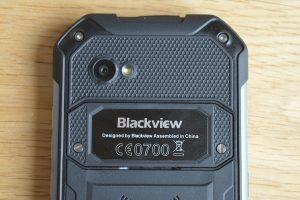 iGet Blackview BV6000 čočka fotoaparátu