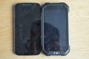 iGet Blackview BV6000 a Moto G4 porovnání
