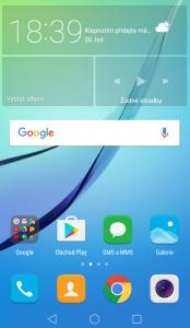 Huawei Nova - systém