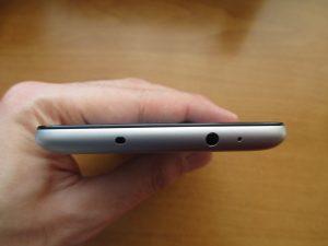 Xiaomi Redmi Note 3 Pro - horní strana