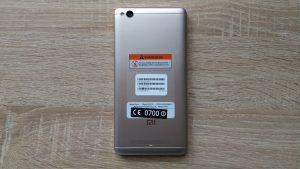 Xiaomi Redmi 4A - zadní strana