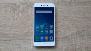 Xiaomi Redmi 4A - čelní strana