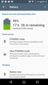 Sony Xperia XZ - konektivita