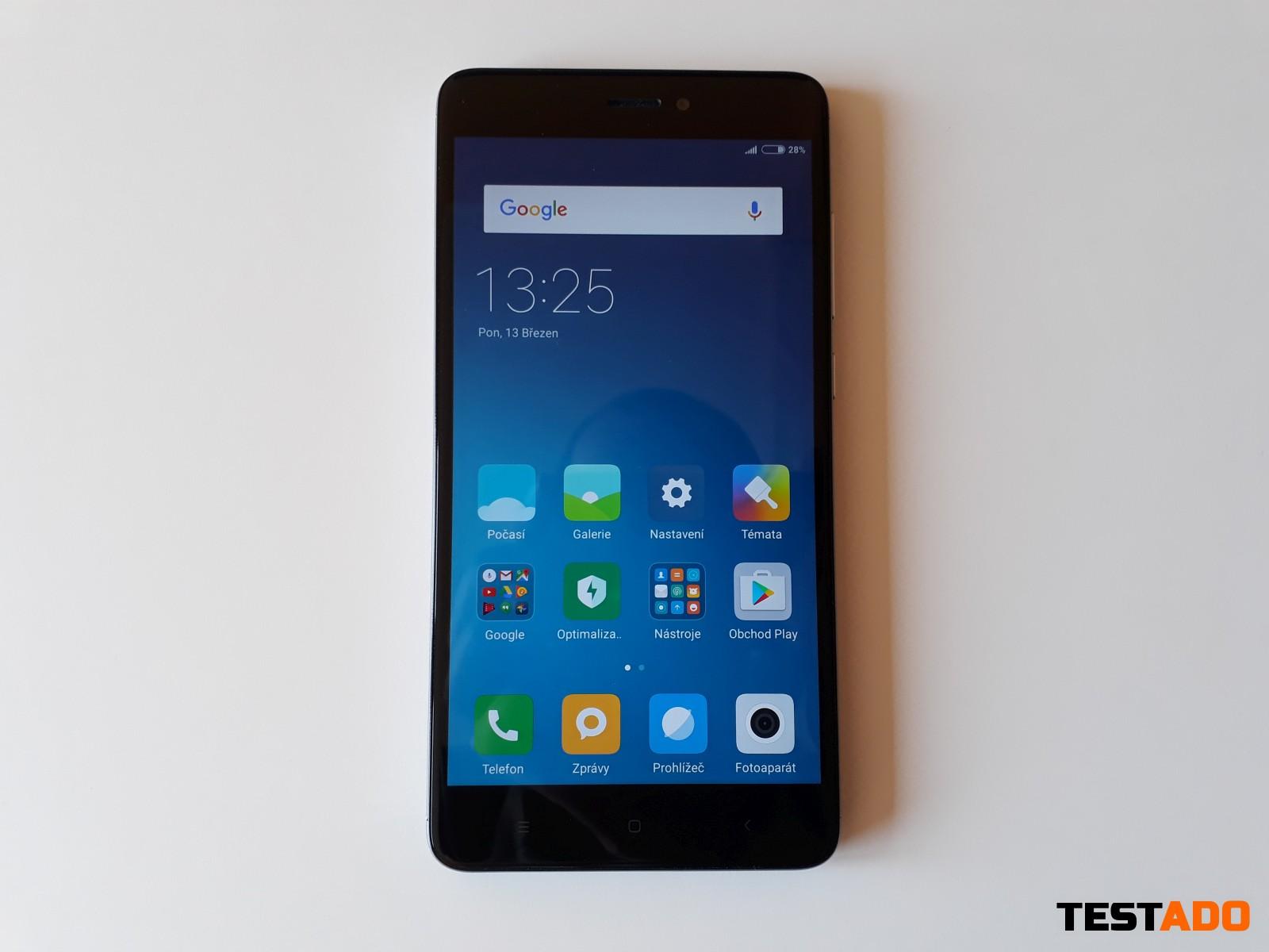Xiaomi Redmi Note 4 Global design