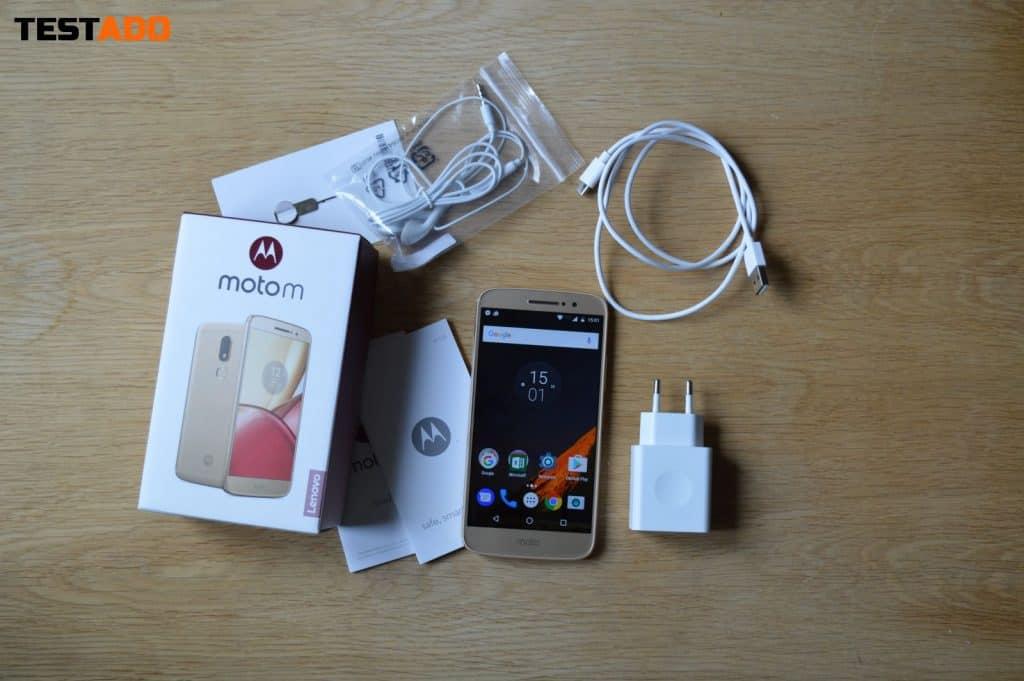 Lenovo Moto M obsah balení