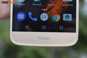 Lenovo Moto M softwarová tlačítka