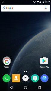 Nubia N1 Lite - prostředí telefonu