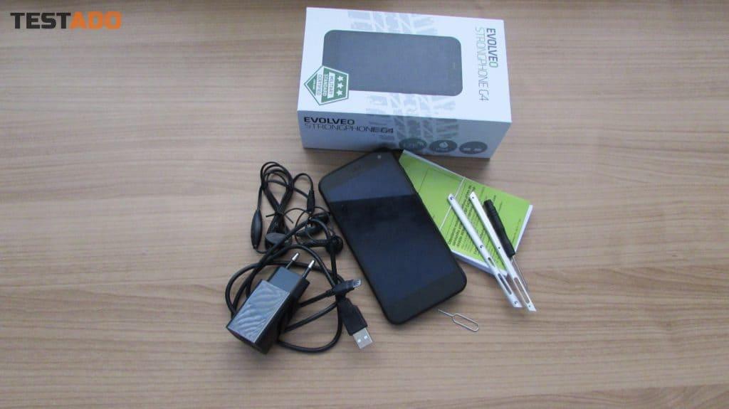 EVOLVEO StrongPhone G4 balení