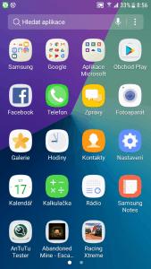 Samsung Galaxy Xcover 4 - prostředí