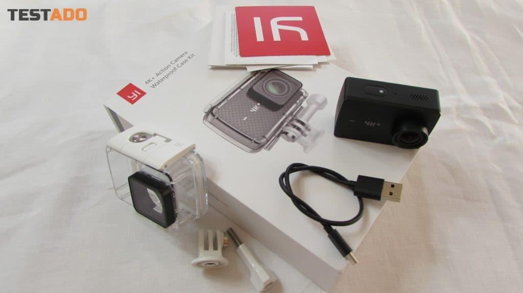 Yi 4K+ Action Camera - obsah balení