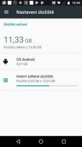 Lenovo Moto G5 - systém