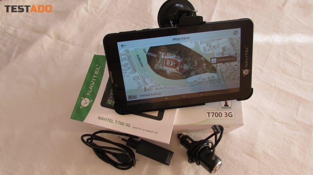 Navitel T700 3G - obsah balení