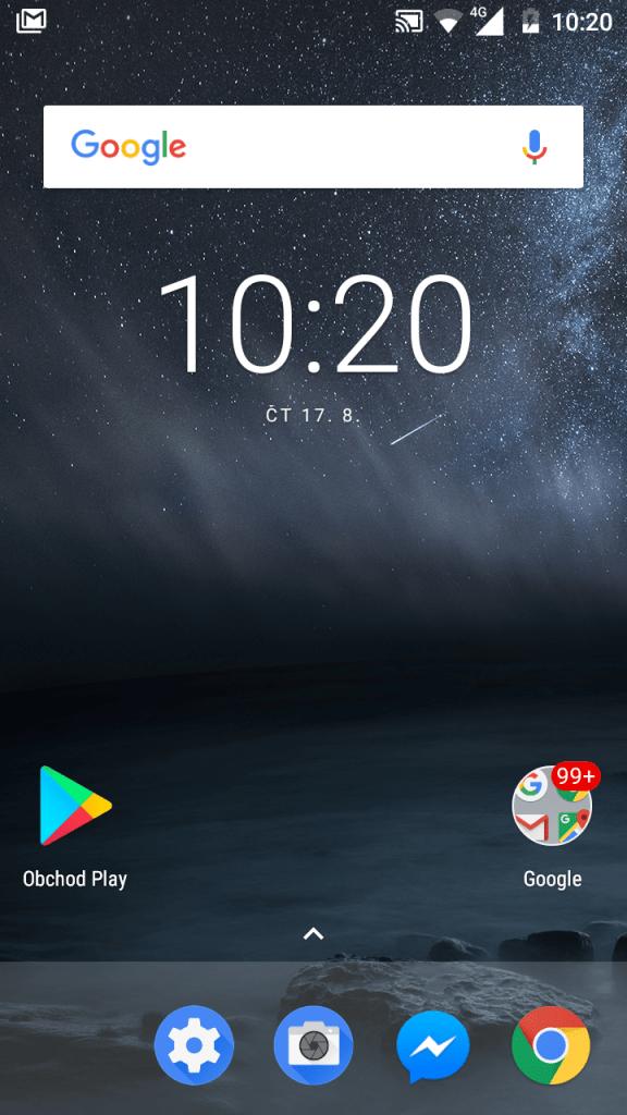 Nokia 3 Single SIM - systém