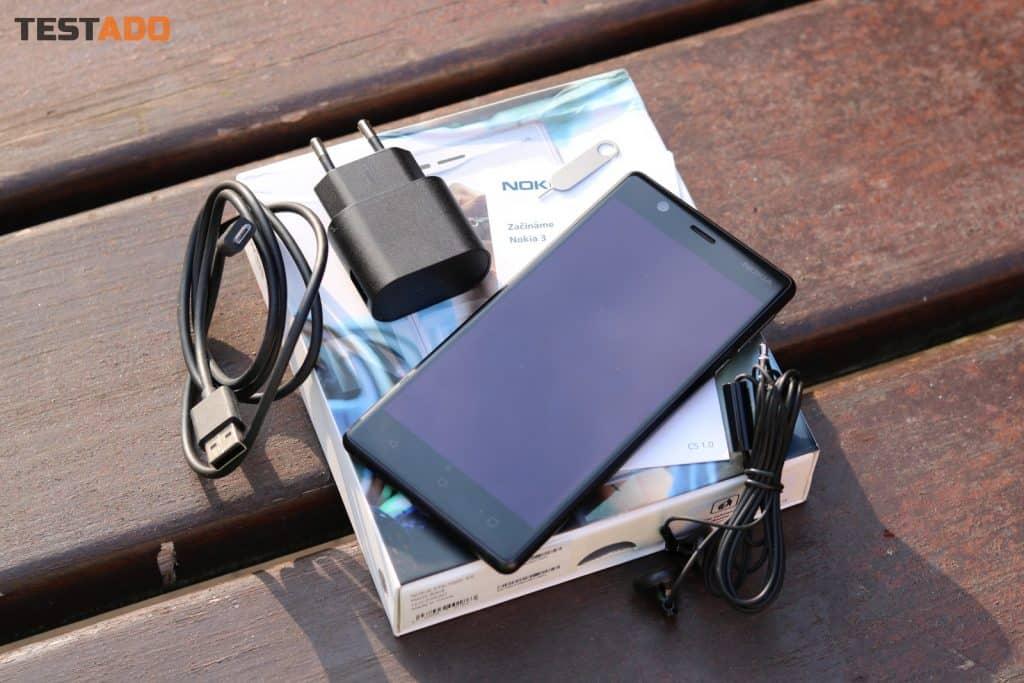 Nokia 3 Single SIM - obsah balení