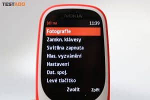 Nokia 3310 - prostředí