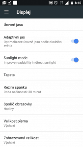 Nokia 5 Dual SIM - systém