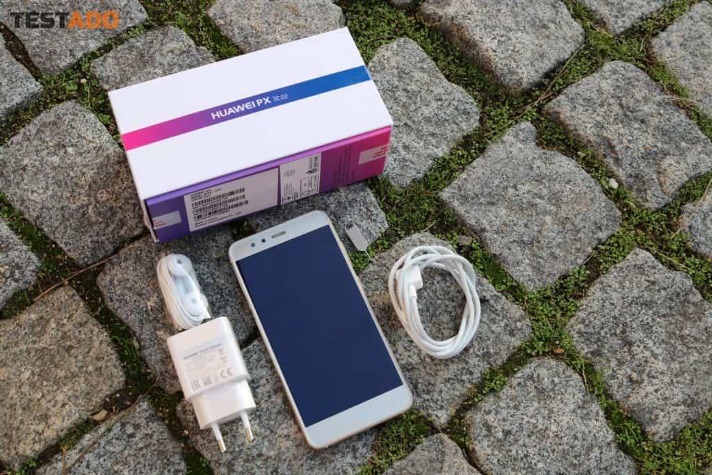 Huawei P10 Lite Dual SIM - obsah balení