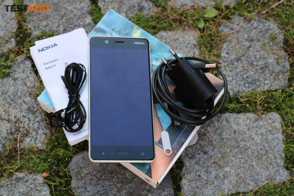 Nokia 5 Dual SIM - obsah balení