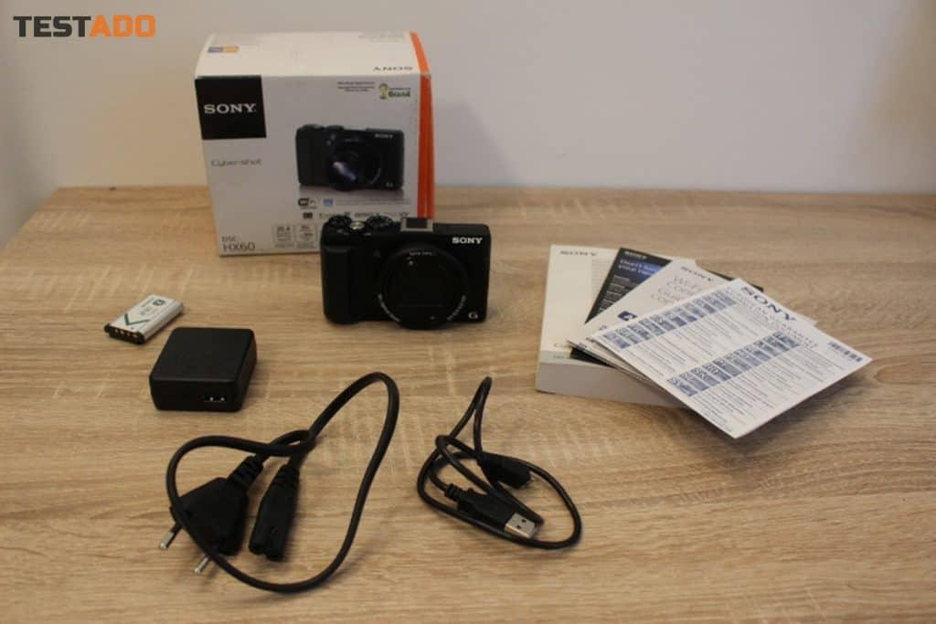 Sony Cyber-shot DSC-HX60 - obsah balení