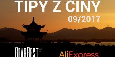 7 tipů na levnou elektroniku z Číny (09/2017): Sluchátka, dalekohled a další