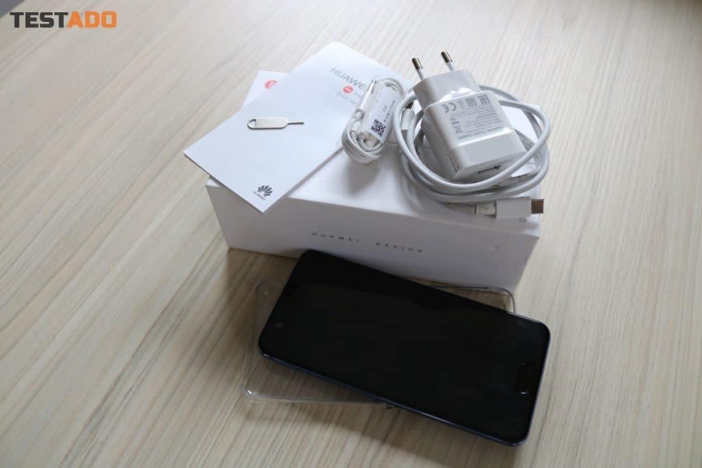 přístroj Huawei P10 Dual SIM - obsah balení