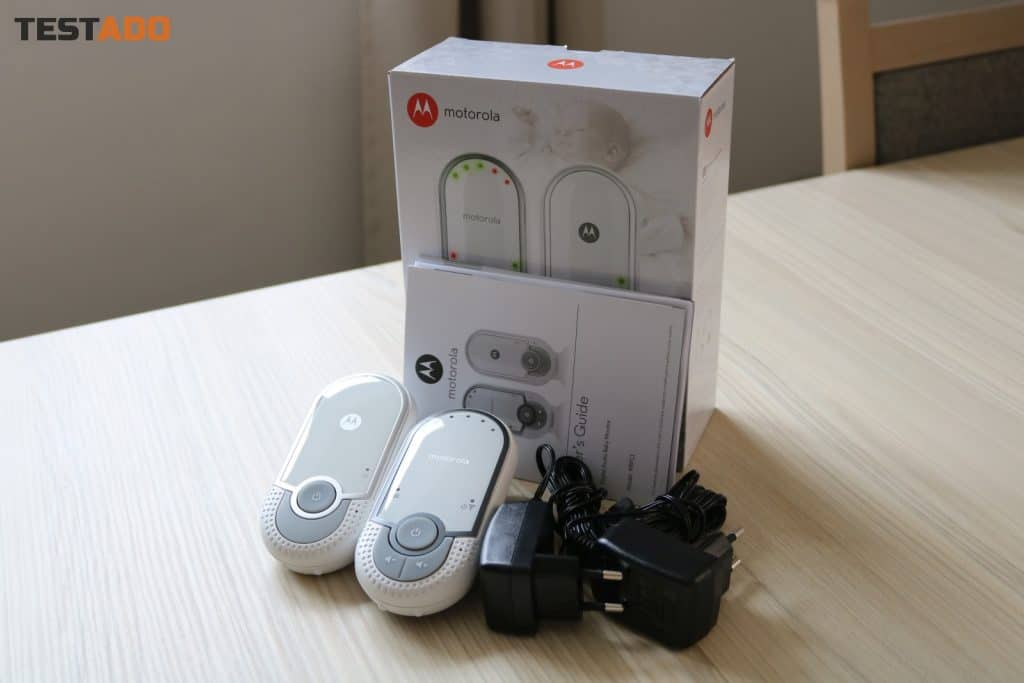 Motorola MBP11 - obsah balení