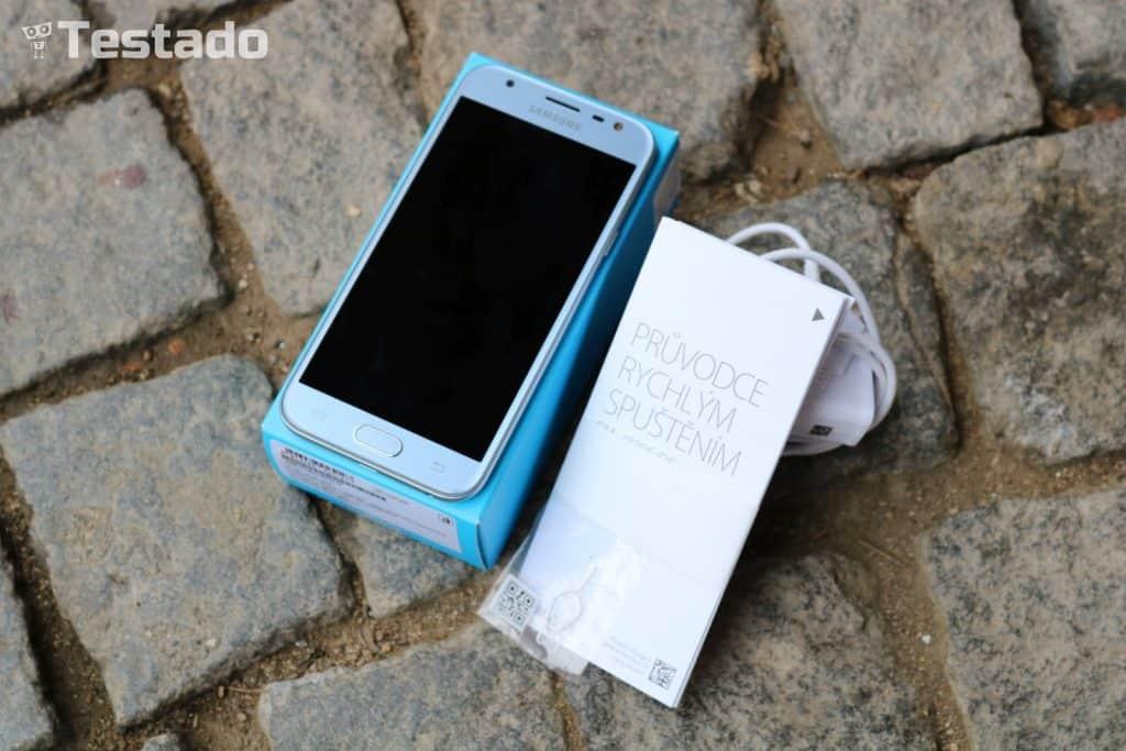 Samsung Galaxy J3 2017 - obsah balení