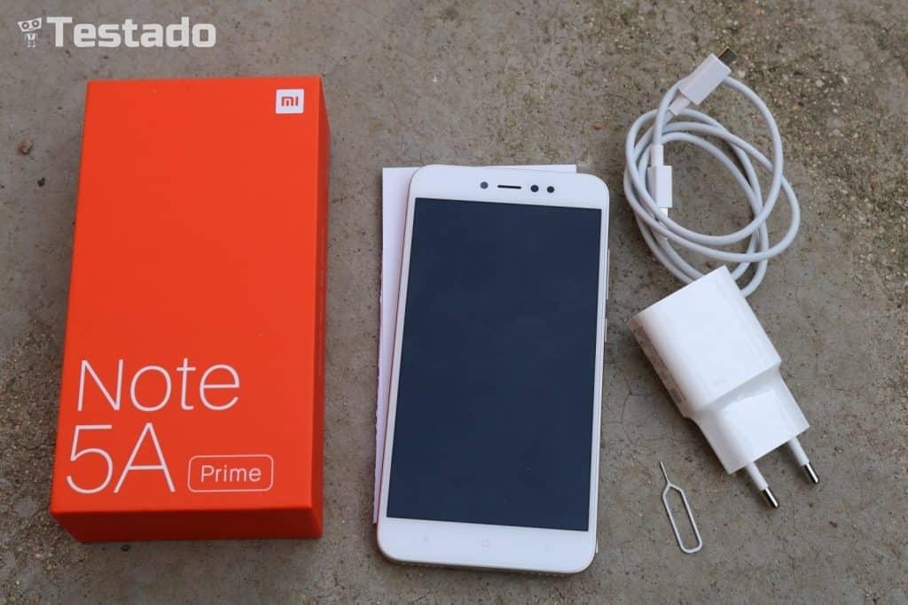 Xiaomi Redmi Note 5A Prime (3GB/32GB) - obsah balení