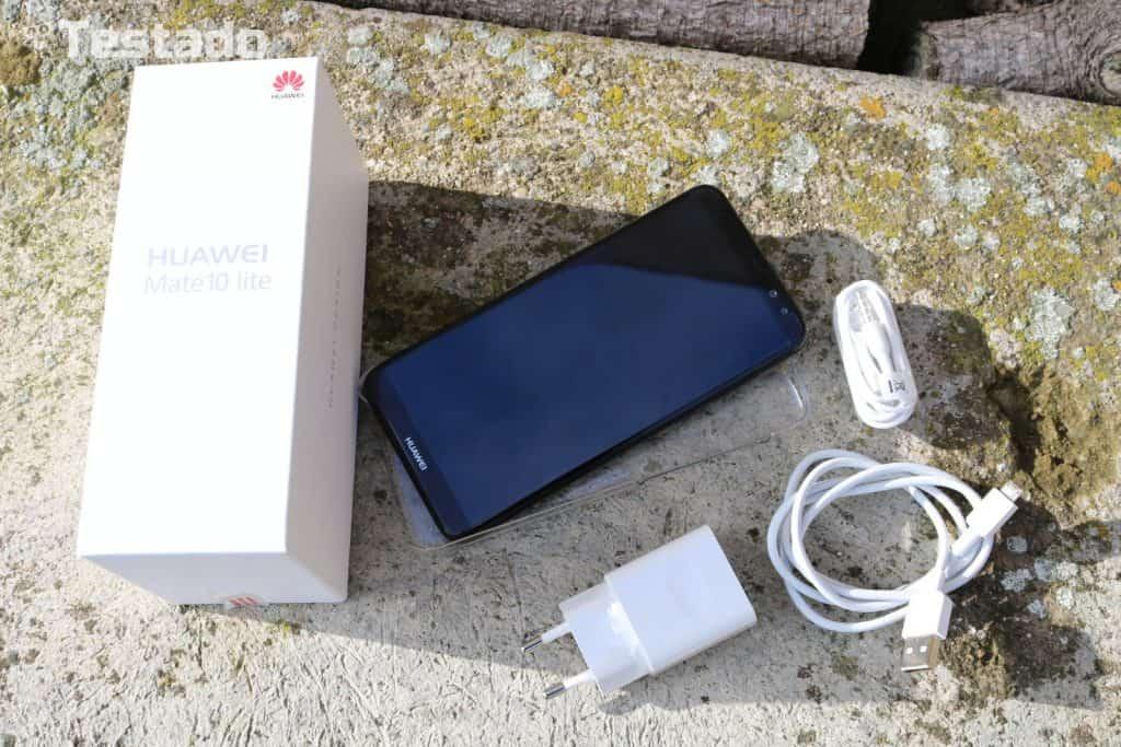 Huawei Mate 10 lite Dual SIM - obsah balení
