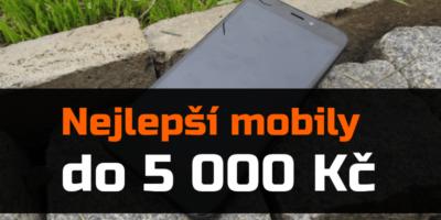 Nejlepší mobilní telefony do 5 000 Kč – zima 2019