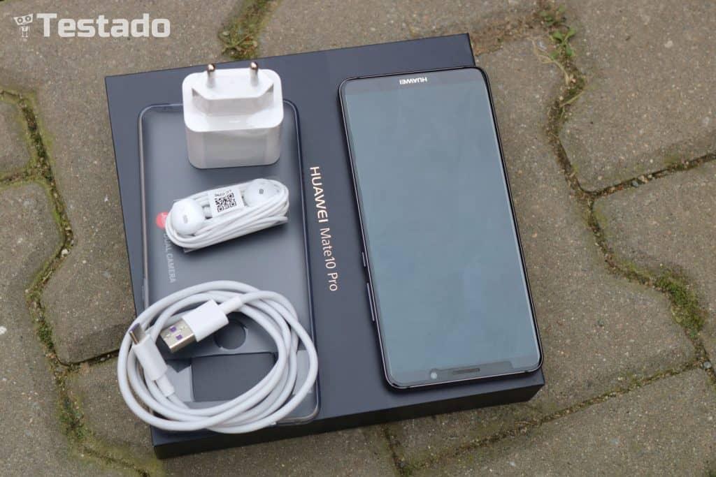 Huawei Mate 10 Pro Dual SIM - obsah balení