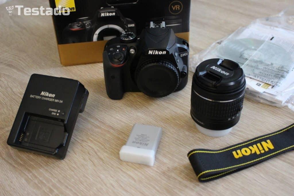 Nikon D3400 - obsah balení