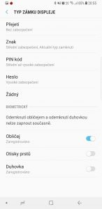 Samsung Galaxy Note8 N950F 64GB Single SIM - systém