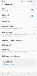 Samsung Galaxy Note8 N950F 64GB Single SIM - systém