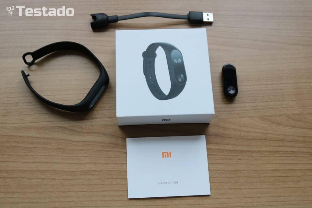 Xiaomi Mi Band 2 - obsah balení