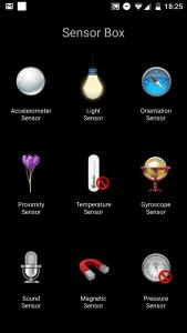 Xiaomi Mi A1 - senzory