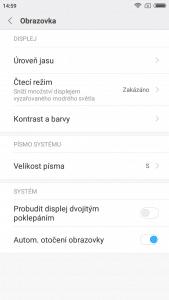 Xiaomi Redmi 5A (2GB/16GB) Global - systém