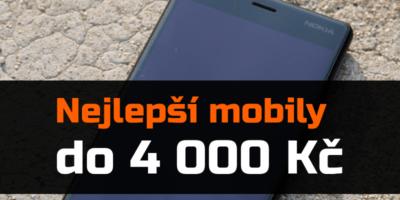 Nejlepší mobilní telefony do 4 000 Kč – zima 2019