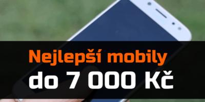 Nejlepší mobilní telefony do 7 000 Kč – zima 2019