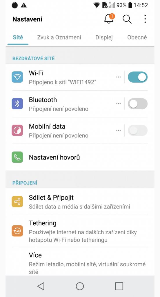 LG Q6 M700N 32GB Single SIM - systém