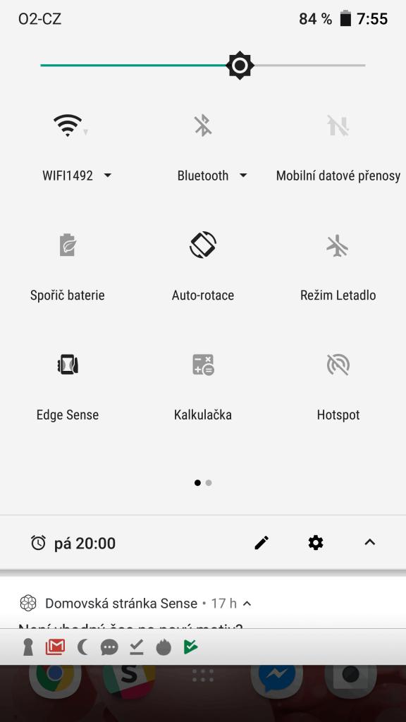 HTC U11 4GB/64GB Single SIM - systém