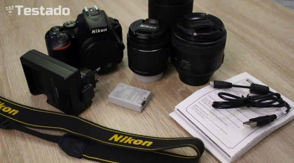 Nikon D5600 - obsah balení